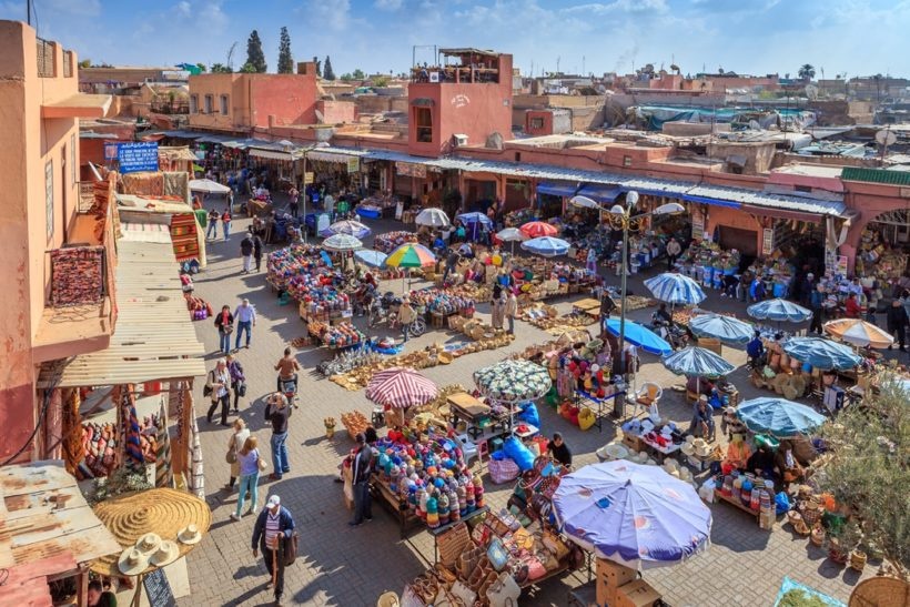 Marrakesh diplomat travel