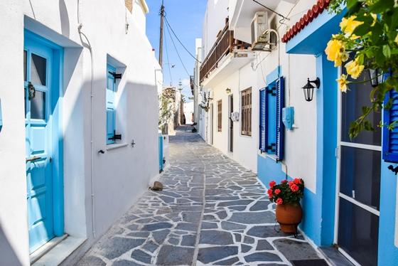 kastro village naxos