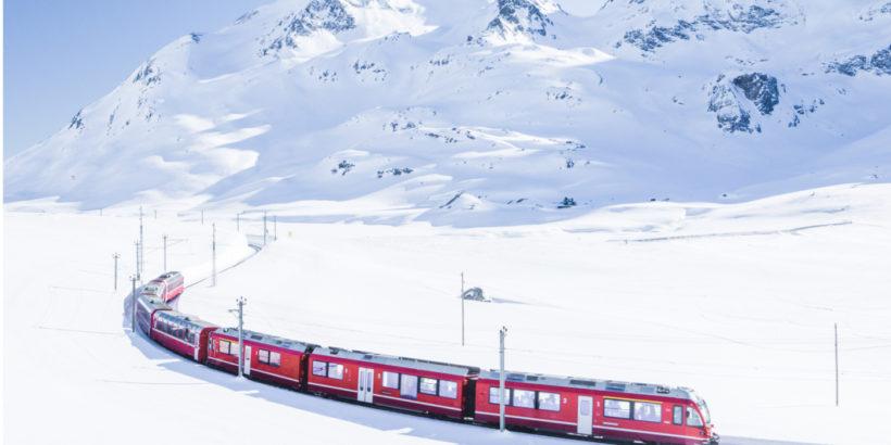 alps train diplomat travel